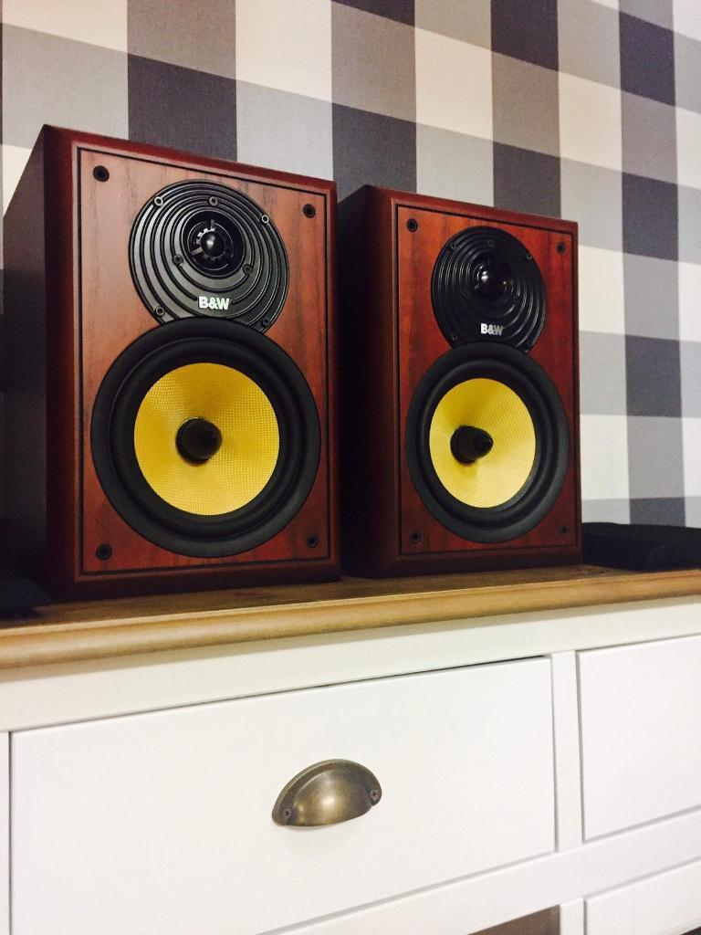 BW CDM2 SE Bookshelf Speakers Bowers Wilkins