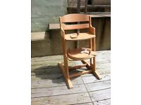 Baby Dan Wooden Highchair- Baby , Toddler High Chair