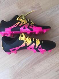 Adidas men's football boots size 9