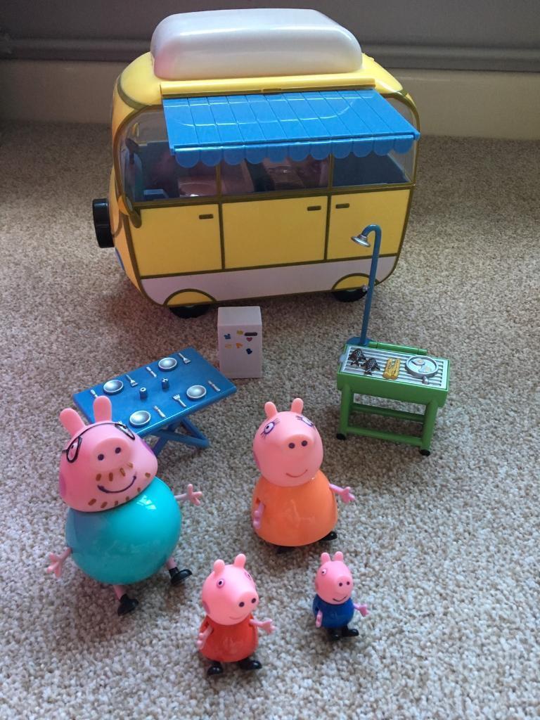 Peppa Pig camper van.