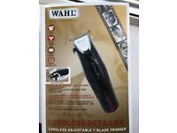 Wahl professional cordless detailer. Brand new in box.