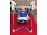 Fisher price musical baby swing chair