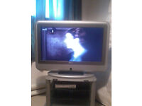 flat screen lcd/led 32inch tv silver