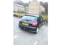 L@@K >>> Peugeot 206 Urban 3 Dr Black Low Mileage Friendly Seller