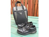 Ecco gents golf shoes, UK size 9 (Euro size 43)