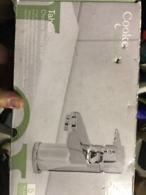 Cooke and Lewis Tahoe chrome basin mixer