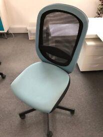 Swivel Desk Chairs - Blue