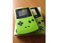 Nintendo Gameboy Color handheld console