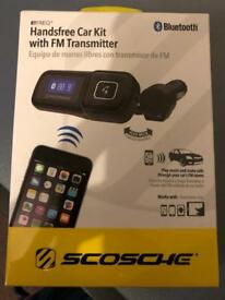 Bluetooth hands free car kit
