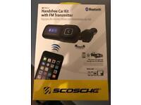 Bluetooth hands free car kit