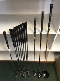 LH set of Golf Clubs Tommy Armour