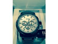 Hugo Boss Chronograph Silver Watch - Brand New, Unworn