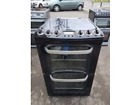 ELECTROLUX EKG5546KN 55cmDOUBLE OVEN FULL GAS COOKER -BLACK