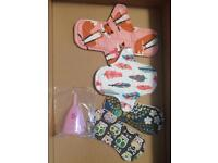 New -Diva cup and pantie liners and pads starter set
