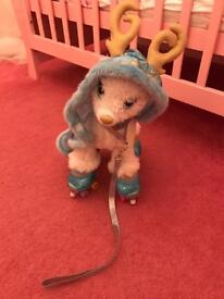 Build a Bear Reindeer Christmas Gift Children Frozen Outfit Included