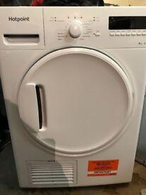 Hotpoint Condenser dryer 8kilo capacity