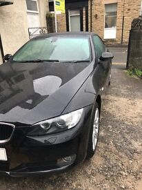 bmw 320i se 2.0 coupe 2 door black leather with service history