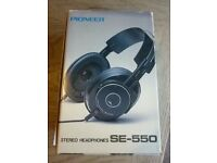 Vintage Pioneer Stereo Headphones