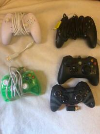 Xbox style controllers