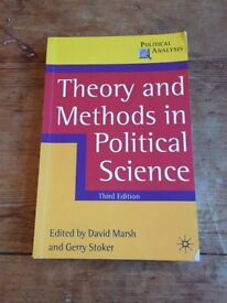 Theory & Methods in Political Science Book