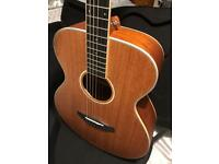 Beautiful Mahogany Acoustic Guitar with Case RRP £278