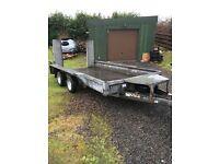 Ifor Williams gx126 plant trailer