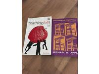 Selection of education books