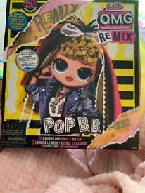 OMG RE MIX LOL Doll pop BB brand new not been opened