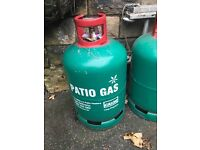 Full Calor gas cylinders x 2