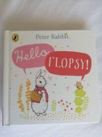 'Peter Rabbit: Hello Flopsy' Beatrix Potter book (brand new)