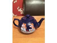 Tetley tea pot
