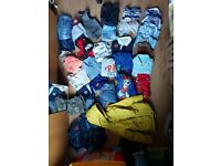 bundle of boys clothes age 4 to 5, coats, jeans ext