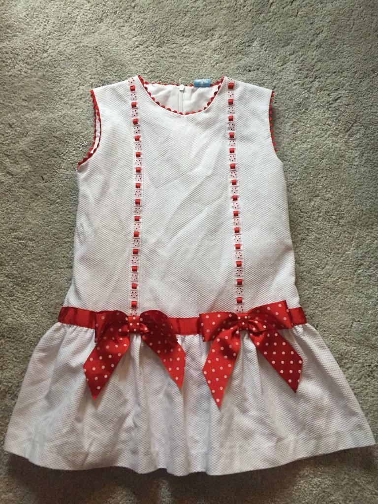 Girls Spanish dress Sardon