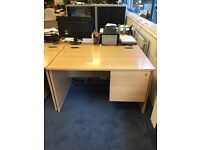 OFFICE FURNITURE FOR SALE DESKS / DRAWER CABINET / MEETING ROOM TABLE & CHAIRS