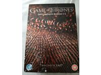 Game of Thrones DVD Seasons 1-4