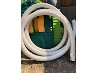 Flexible 100mm diameter perforated land drainage pipe (10m)