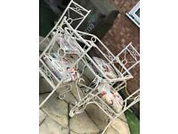 Gorgeous wrought iron garden set CAN DELIVER LOCALLY!! *** REDUCED***