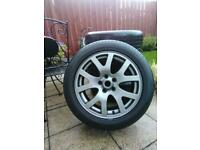 Genuine immaculate RangeRover Sport Alloy Wheels +Tyres