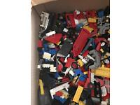 Big box of genuine lego