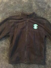 Hibernian Hibs fleece jacket medium