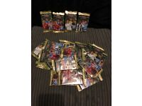 28 brand new packets off 2019 panini football cards