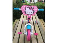 Hello Kitty training Bike