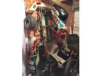 Rotax max go kart Race tuned Tony Kart