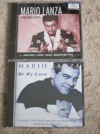 2 MARIO LANZA NEW CD's