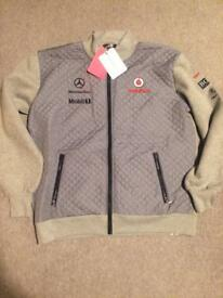 Formula 1, official Mercedes merchandise. Zip fleece XXXL