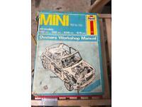 Haynes classic Mini Manual 69 To 85