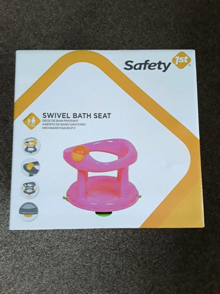 New Safety First Swivel Bath Seat - Pink   in Glenfield ...
