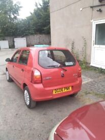 Suzuki alto 2006 under 51000 miles one owner in red full mot and service
