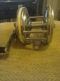 Vintage fishing reel never been used