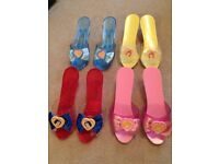 Disney Princess Shoe Collection size junior 10-12